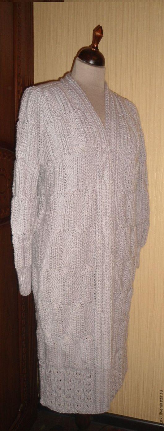 Верхняя одежда ручной работы. Ярмарка Мастеров - ручная работа. Купить Пальто женское, вязаное. Handmade. Пальто вязаное, полушерсть