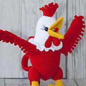 handmade. Livemaster - original item Knitted Cock. Handmade.