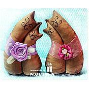 Подарки к праздникам ручной работы. Ярмарка Мастеров - ручная работа Влюбленные парочки, котики-неразлучники, подарок любимым, друзьям. Handmade.