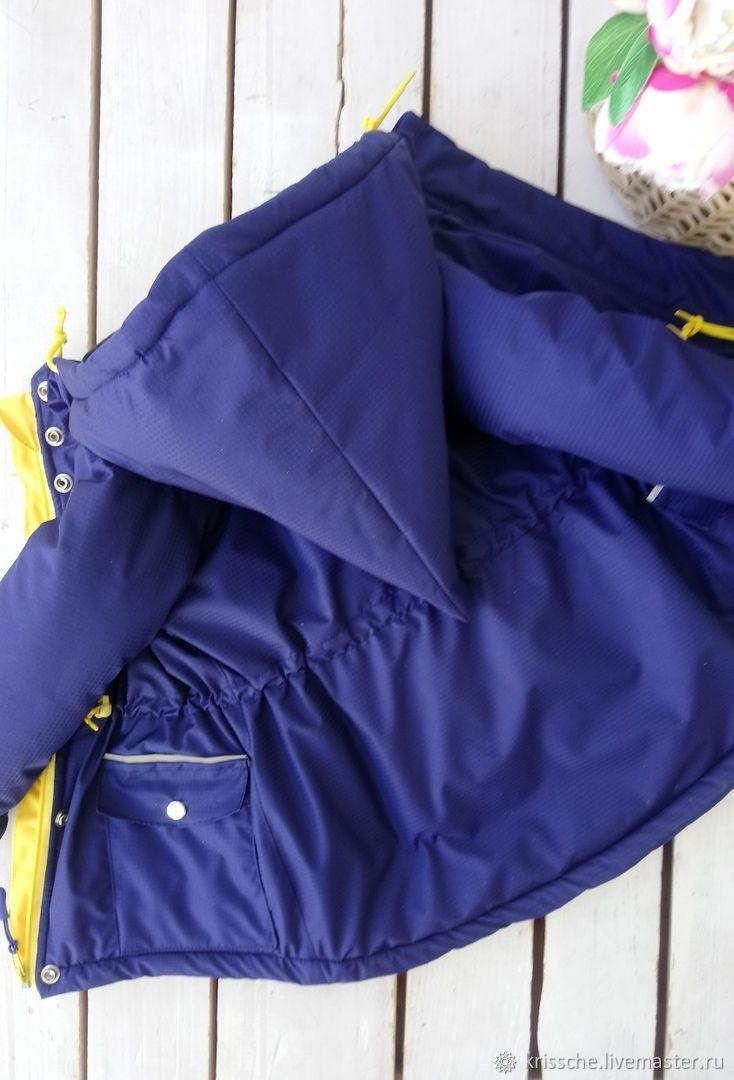 """Парка - пальто для девочки с капюшоном """"Гномик"""""""