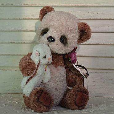 Куклы и игрушки ручной работы. Ярмарка Мастеров - ручная работа Мишки Тедди: панда-Мишель. Handmade.