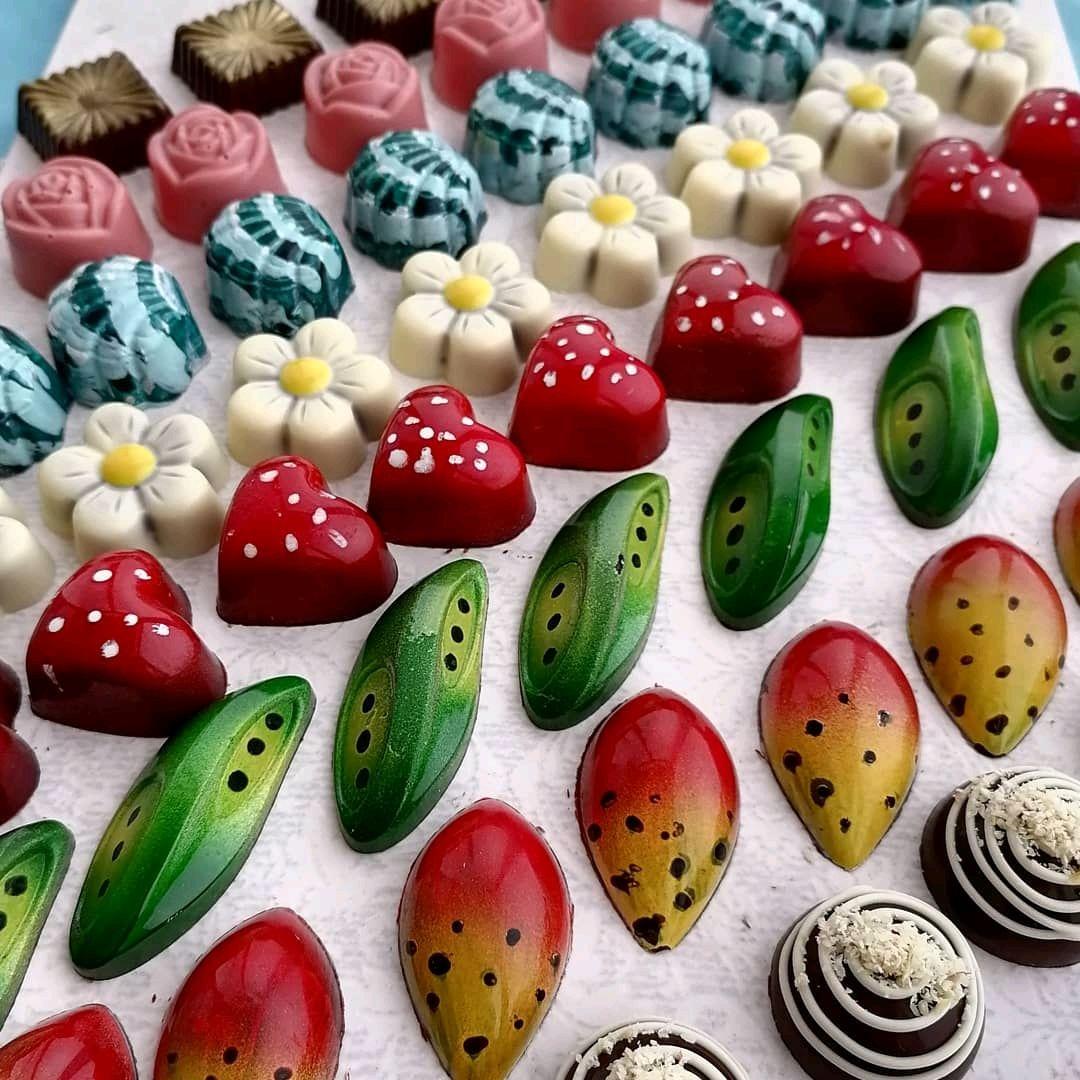Handmade boxed chocolates, Chocolate figures, Rostov-on-Don,  Фото №1