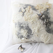 Для дома и интерьера handmade. Livemaster - original item Eco-pillow