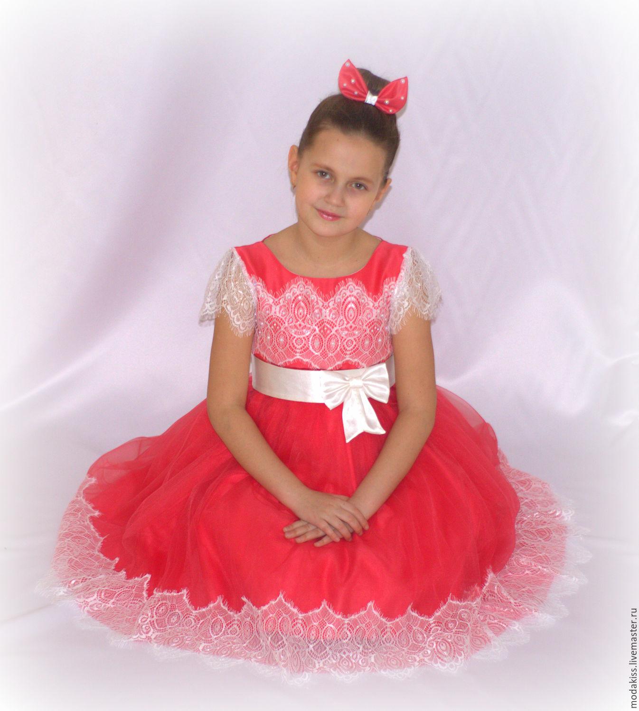 00154d1ddd7 Платье для девочки 5-7 лет – купить в интернет-магазине на Ярмарке ...