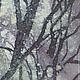 Пейзаж ручной работы. Картина Снегопад, на х/б ткани в технике горячего батика. Мария. Ярмарка Мастеров. Батик зима