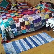 handmade. Livemaster - original item knitted rug