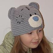 """Работы для детей, ручной работы. Ярмарка Мастеров - ручная работа Шапка детская вязаная """"Медвежонок Тедди"""". Handmade."""