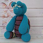 Куклы и игрушки handmade. Livemaster - original item Turtle, soft knitted toy. Handmade.
