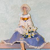 Куклы и игрушки ручной работы. Ярмарка Мастеров - ручная работа Кукла Тильда Ромашка. Handmade.