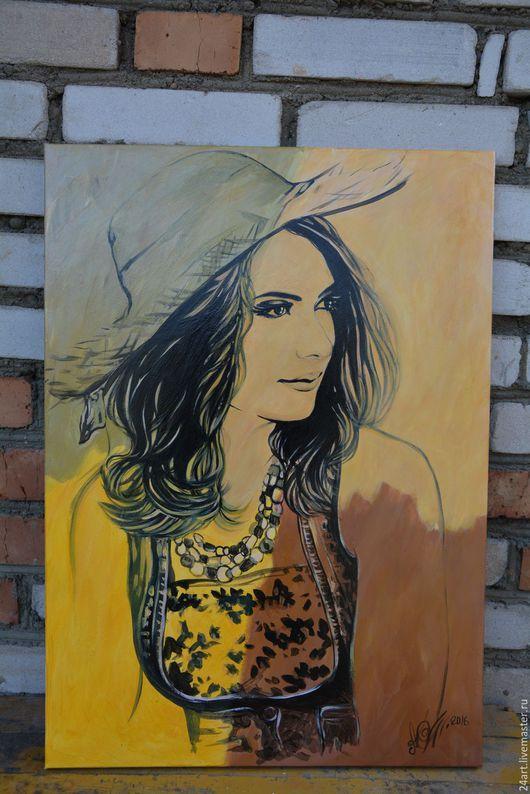 портрет поп-арт размер 50х70