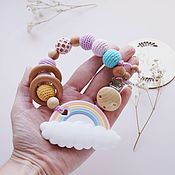 Работы для детей, handmade. Livemaster - original item Silicone rodent, a gift for the birth of a girl. Handmade.