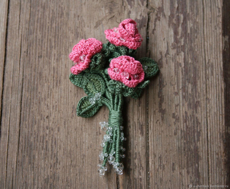 Brooch 'Bouquet', Brooches, Pavlovsky Posad,  Фото №1