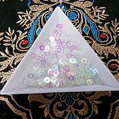 Материалы для творчества handmade. Livemaster - original item India paillettes 4 mm transparent AB effect. Handmade.