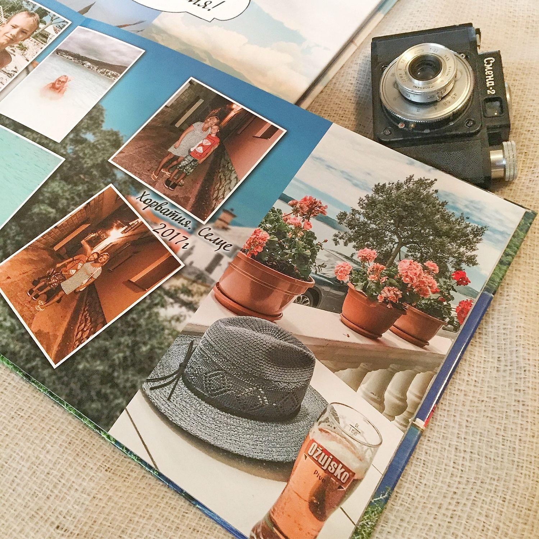 Фотокнига «Наши путешествия» фотоальбом с индивидуальным дизайном, Фото, Нижний Новгород,  Фото №1
