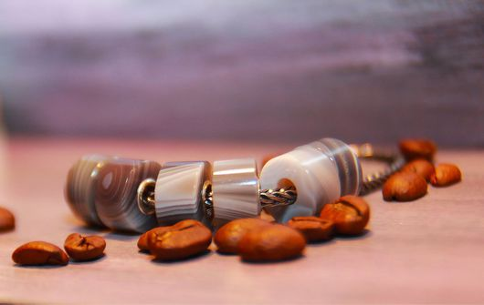 Браслеты ручной работы. Ярмарка Мастеров - ручная работа. Купить Ботсванский агат.. Handmade. Украшения ручной работы, камни для украшений