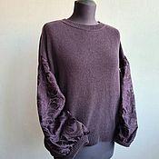 Одежда handmade. Livemaster - original item Spectacular knitted jacket made of merino. Handmade.