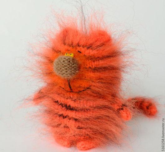 """Игрушки животные, ручной работы. Ярмарка Мастеров - ручная работа. Купить Кот """"Тигр"""" ( Вязаные игрушки коты / тигры). Handmade."""