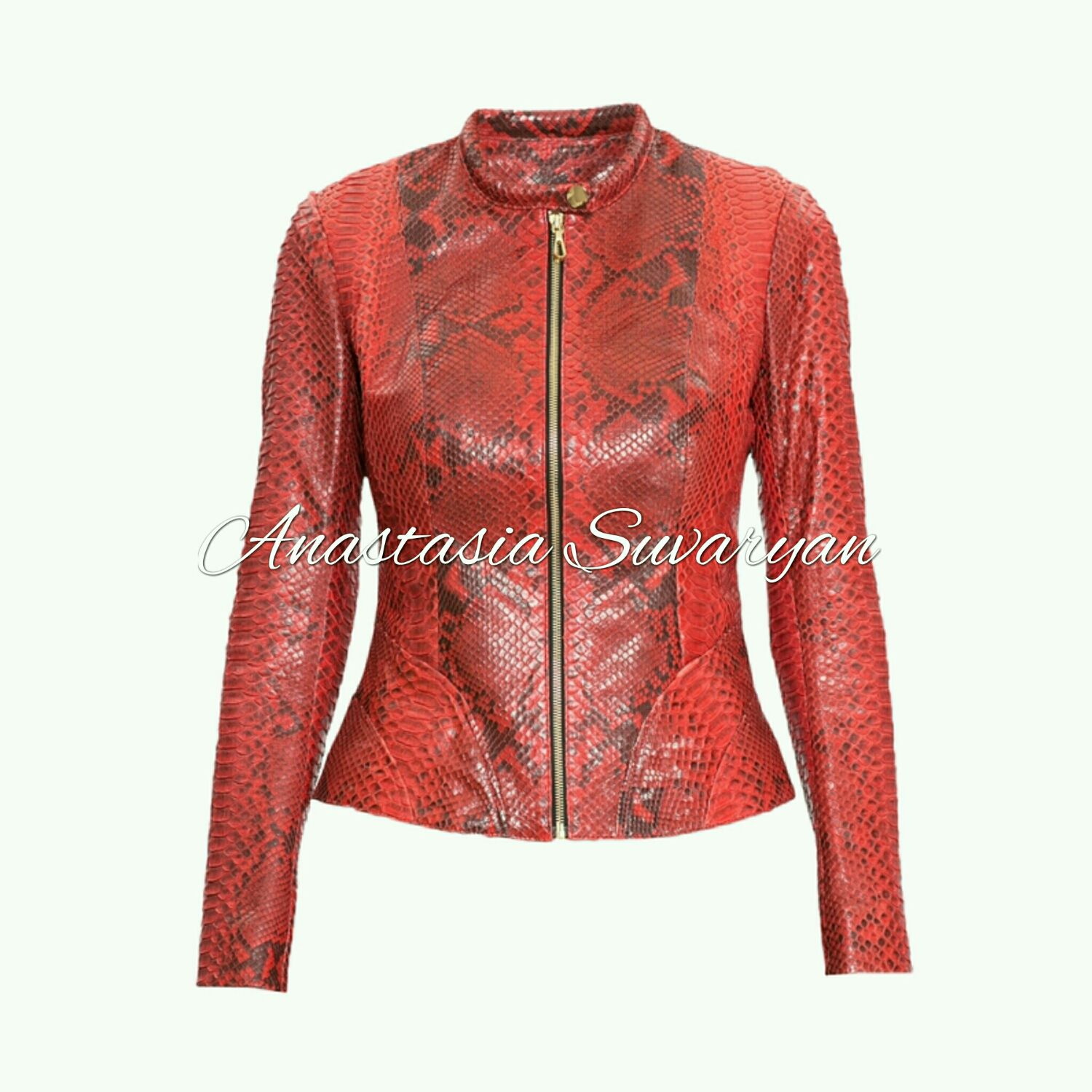 Jacket from natural Python skin, Outerwear Jackets, Barnaul,  Фото №1