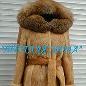 Одежда handmade. Livemaster - original item FUR COATS OF NUTRIA. Handmade.