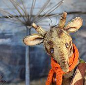 Куклы и игрушки ручной работы. Ярмарка Мастеров - ручная работа Жирафик Бенджи. Handmade.