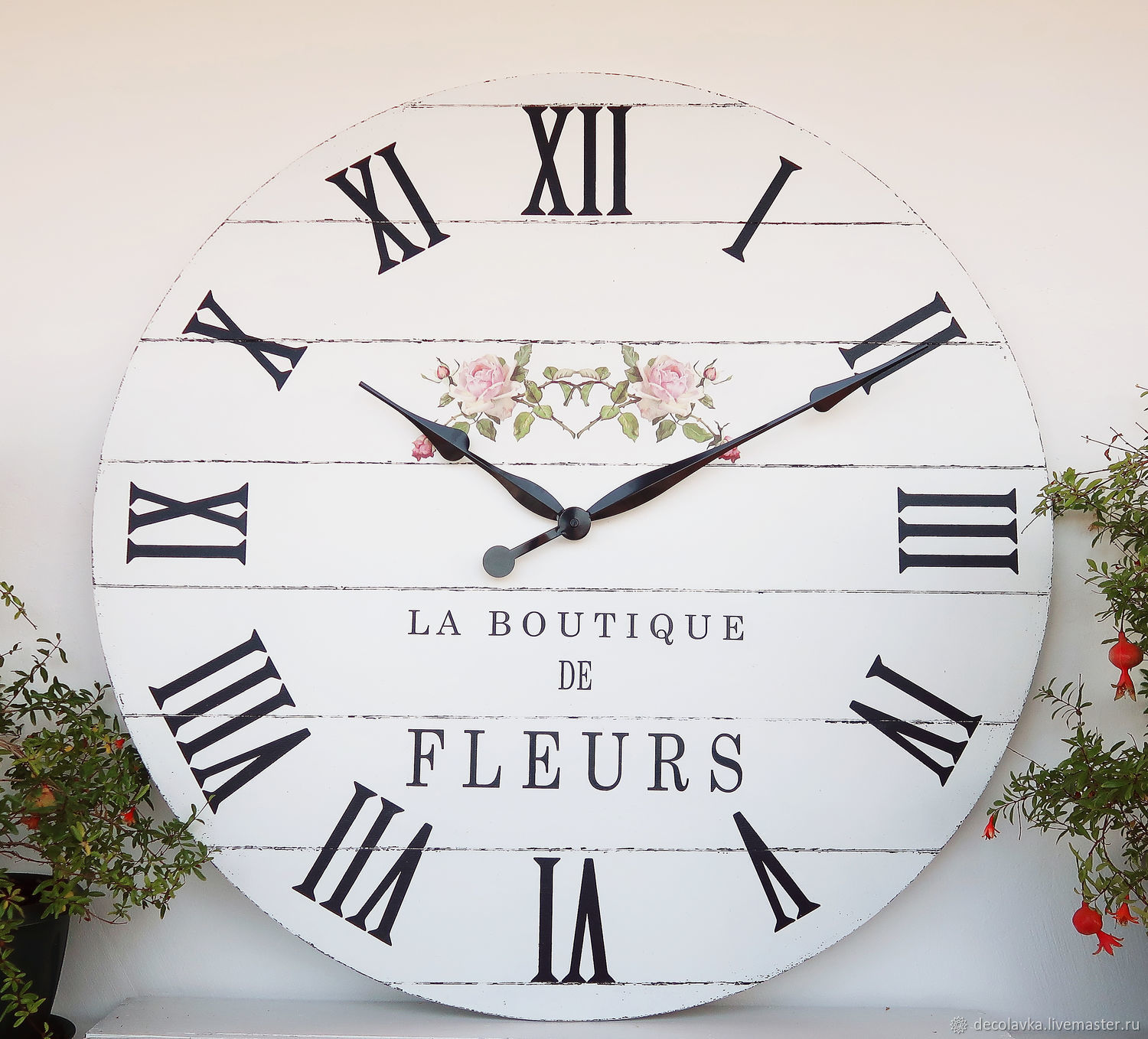 Copy Of Large Wall Clock 24 Shop Online On Livemaster With