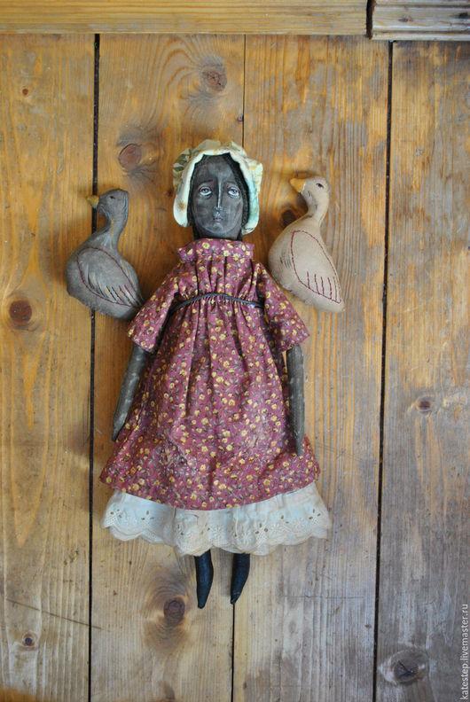 Ароматизированные куклы ручной работы. Ярмарка Мастеров - ручная работа. Купить Чердачная кукла. Handmade. Комбинированный, хлопок американский
