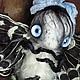 Коллекционные куклы ручной работы. Ярмарка Мастеров - ручная работа. Купить Видеть ГЛАЗАМИ ЛУНЫ. Handmade. Коллекционные игрушки, плюш