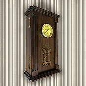 Для дома и интерьера ручной работы. Ярмарка Мастеров - ручная работа Ключница большая с часами. Ручная работа. Handmade.