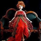 Куклы и игрушки ручной работы. Ярмарка Мастеров - ручная работа Сара. подвижная фарфоровая кукла. Handmade.