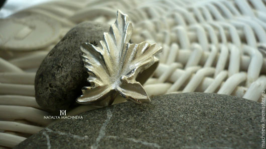 """Кольца ручной работы. Ярмарка Мастеров - ручная работа. Купить Кольцо серебряное """"Кленовый  лист"""". Handmade. Серебряный, кольцо из серебра"""