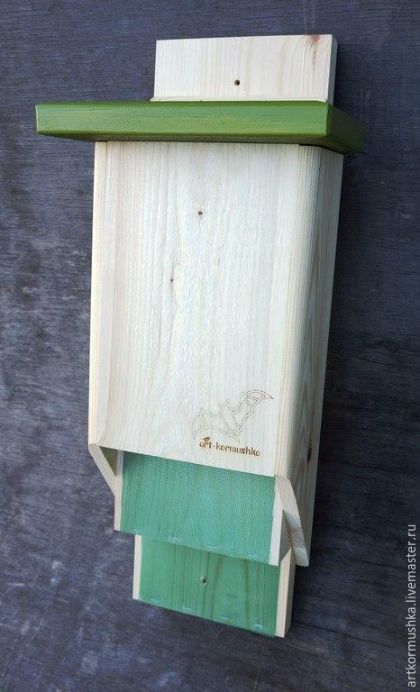 Домик для летучих мышей на дачу