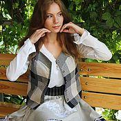 Одежда handmade. Livemaster - original item The vest is