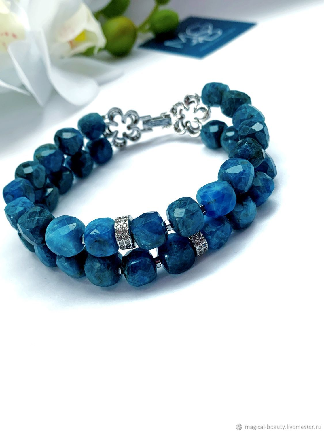 Bracelet with Apatite 'star Light», Necklace, Moscow,  Фото №1