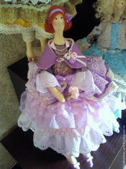 Куклы Тильды ручной работы. Ярмарка Мастеров - ручная работа. Купить Кукла Тильда в силе бохо-шик Бланш.. Handmade.