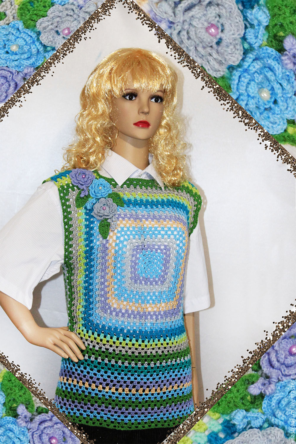 Sweater Vest Womens Crochet Shop Online On Livemaster With