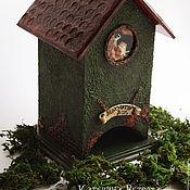 """Для дома и интерьера ручной работы. Ярмарка Мастеров - ручная работа Чайный домик """"Мохнатый дом"""". Handmade."""