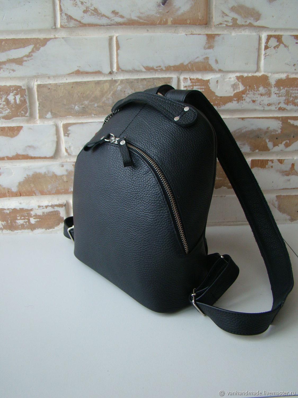 b29e6463b45c Рюкзаки ручной работы. Стильный кожаный прогулочный рюкзак. Алена и  Владимир (VANhandmade).