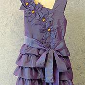 Работы для детей, ручной работы. Ярмарка Мастеров - ручная работа Платье для любимой дочки. Handmade.