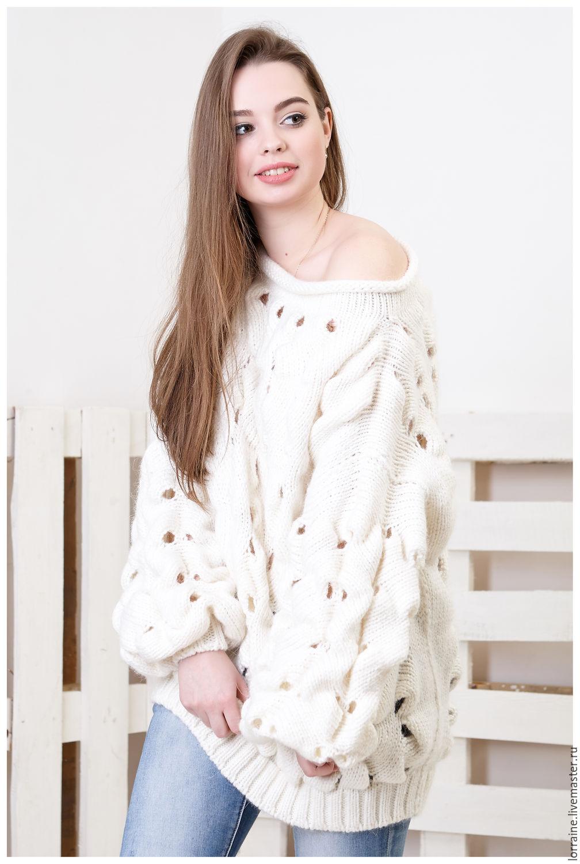 Каталог вязаных свитеров