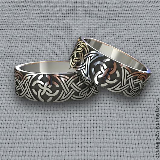 Кольцо `Свадебник` из серебра 4-7гр. 1300руб.- Под заказ (5дней).