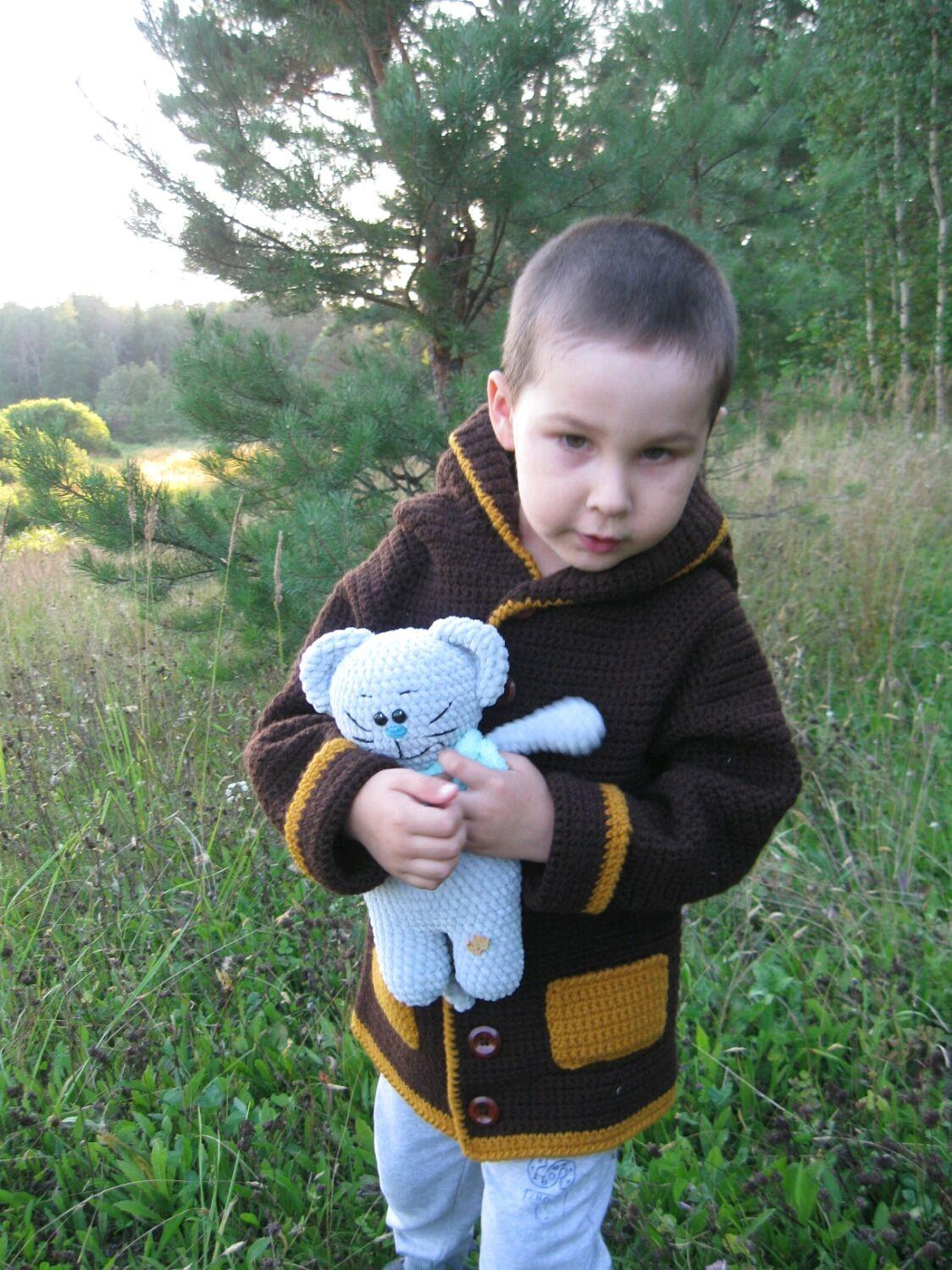 Кардиган на мальчика 4-5 лет в наличии, Одежда, Йошкар-Ола, Фото №1
