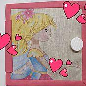 handmade. Livemaster - original item In stock!!! Dollhouse baby Book. Handmade.