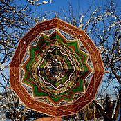 """Картины и панно ручной работы. Ярмарка Мастеров - ручная работа Мандала """"Звездопад и Сова"""". Handmade."""