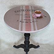 Для дома и интерьера ручной работы. Ярмарка Мастеров - ручная работа Столик кофейный Antoinette высокий. Handmade.