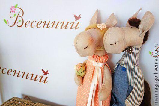 Игрушки животные, ручной работы. Ярмарка Мастеров - ручная работа. Купить Текстильная интерьерная кукла. Handmade. Текстильная игрушка, игрушка