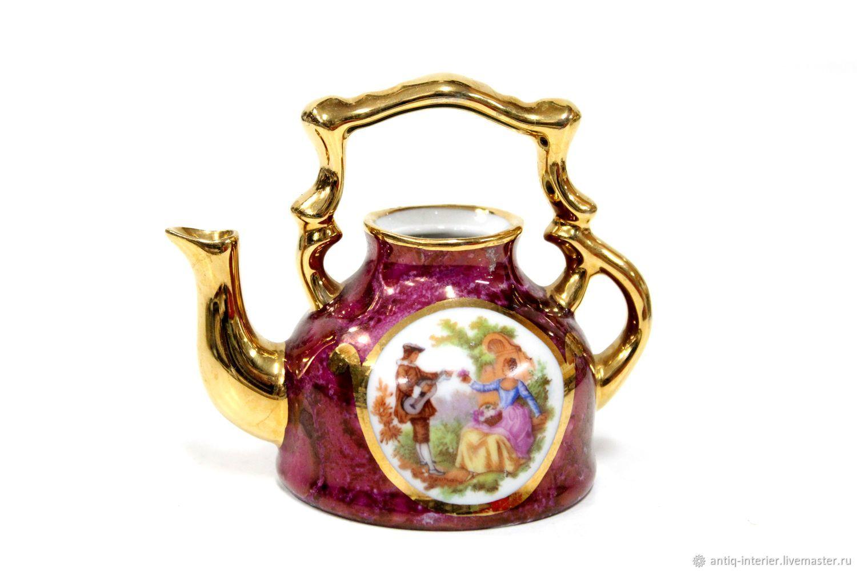 Teapot miniature Limoges, Vintage teapots, Kaliningrad,  Фото №1
