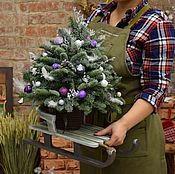 Подарки к праздникам handmade. Livemaster - original item Decorative sleigh