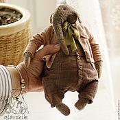 Куклы и игрушки ручной работы. Ярмарка Мастеров - ручная работа слон Кардамон. Handmade.