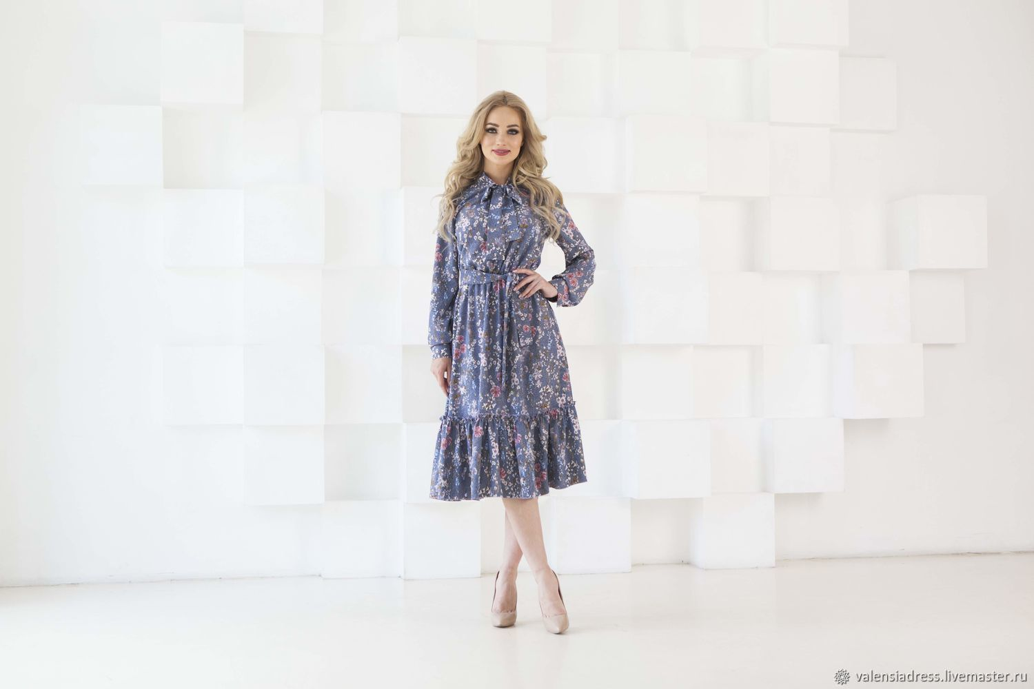 A dress for every day dress with frill, Dresses, St. Petersburg,  Фото №1