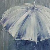 Картины и панно ручной работы. Ярмарка Мастеров - ручная работа Под зонтом. Handmade.
